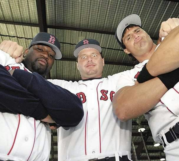 Mo Vaughn Roger Clemens Jose Canseco New England Sports