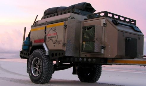 Image detail for -Conqueror Camper Trailers at 4WD Adventure Show   OzRoamer