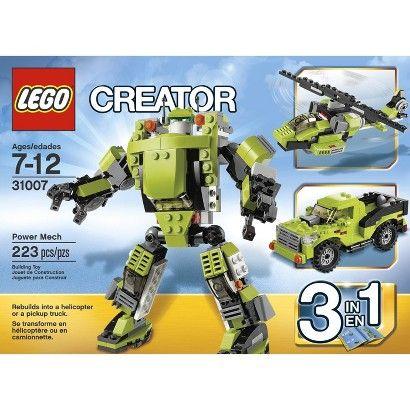LEGO® Creator Power Mech 31007
