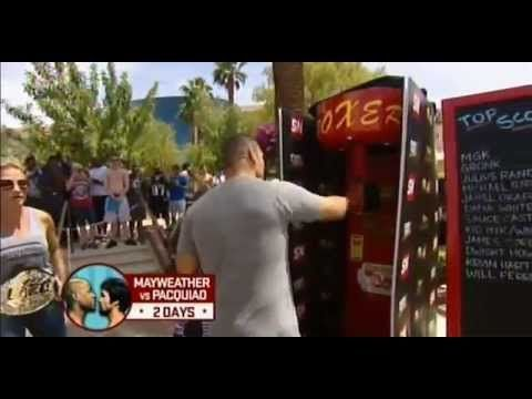 Punching power machine: UFC Champ Cain Velasquez vs. Evander Holyfield