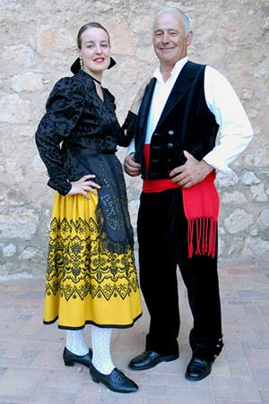Traje de gala. Castilla La Mancha