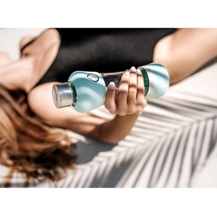 Summer hydration   with new Active Summer collection of reusable glass bottles made in EU.  Active Summer Mint #myequa