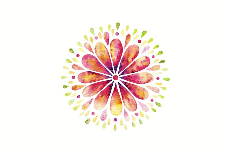 Mandalas watercolor bundle by AnnelyBlooms on @creativemarket