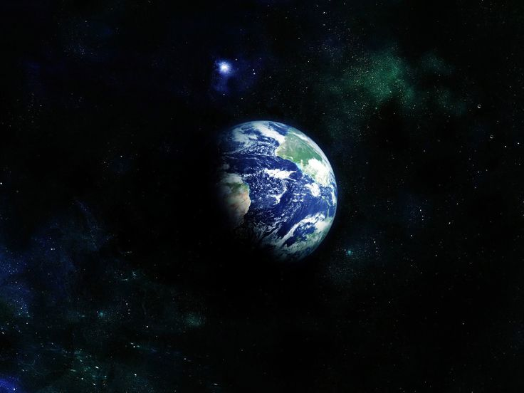 Planet Earth From Space Wallpaper: Download Planet Earth Seen From Space