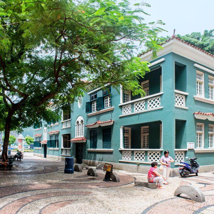 Aformer Portuguese colony, from de mid-16th century until late 1999, in Sao Lourenco_ Macau