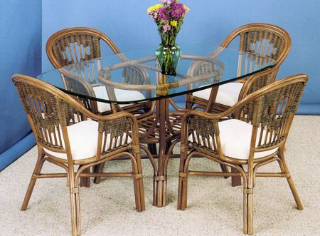 23 Best Indoor Wicker And Rattan Dining Sets Images On Pinterest Mesmerizing Cane Dining Room Chairs 2018