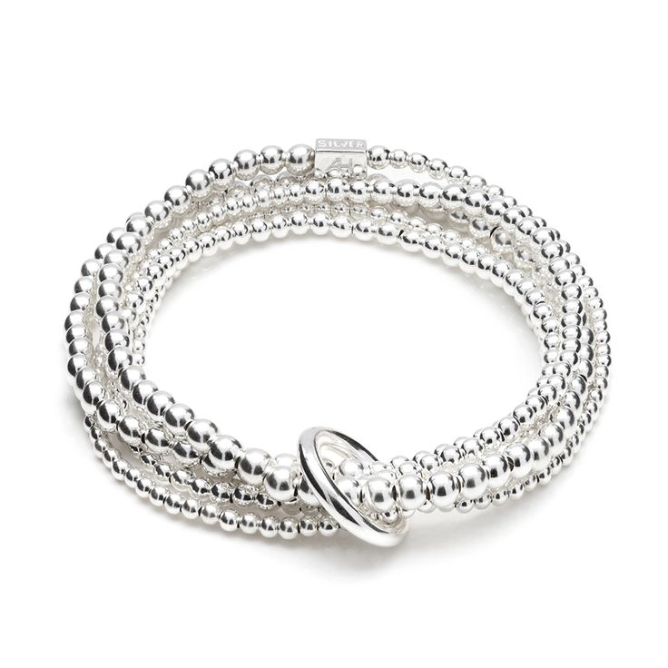 Follow ANNIE HAAK on Pinterest & REPIN to WIN this lovely Yard of Silver Bracelet