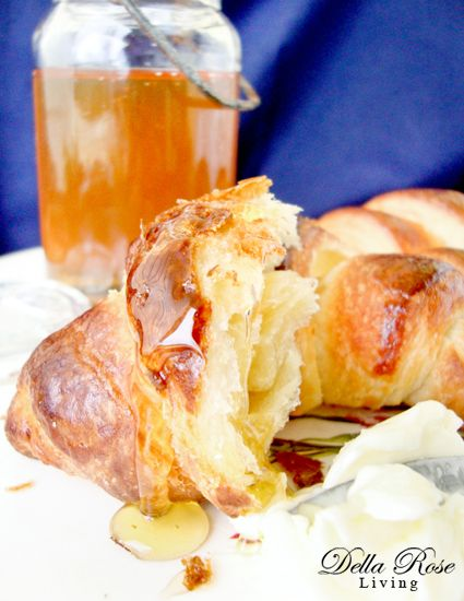 Oh yeah! My sister made these! Amazing!!!  How to make homemade Croissants - Della Rose Living