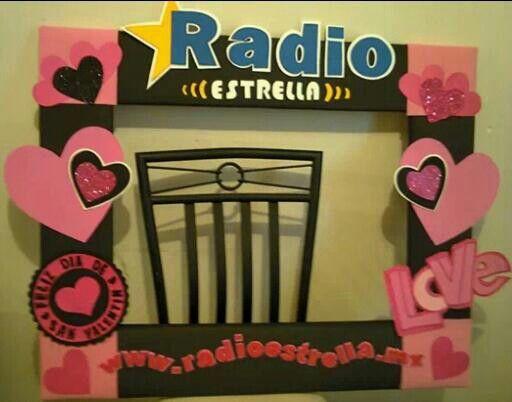 Amor Radio Decor Ideas Valentine Decorations Photo Booth Y