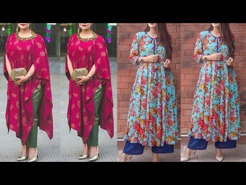 c9afb191ad Plazzo With Kurti for Summers 2018 || Latest Palazzo With Long Kurti 2018  || Plazo and Kurti 2018 - YouTube
