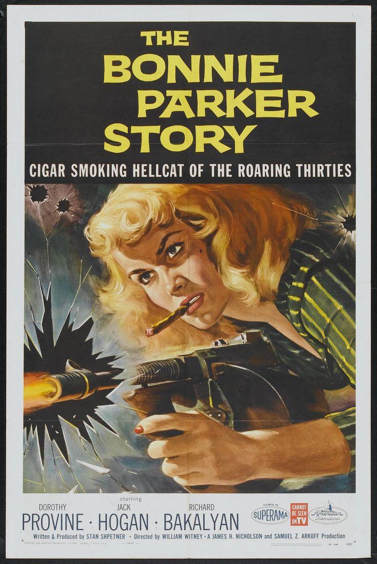 The Bonnie Parker Story Movie Poster