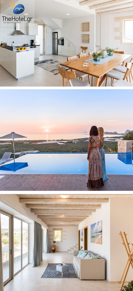 Looking for the #perfect #Villa  for your #family and #friends? Choose your best Villa at https://www.thehotel.gr/villas-crete