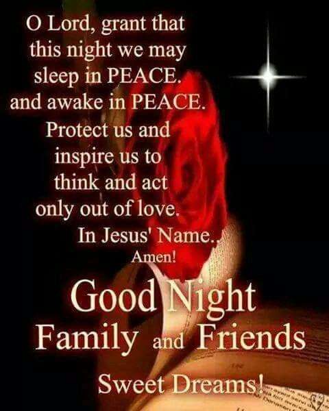Family And Friends Quotes In Bible: The 25+ Best Good Night Blessings Ideas On Pinterest