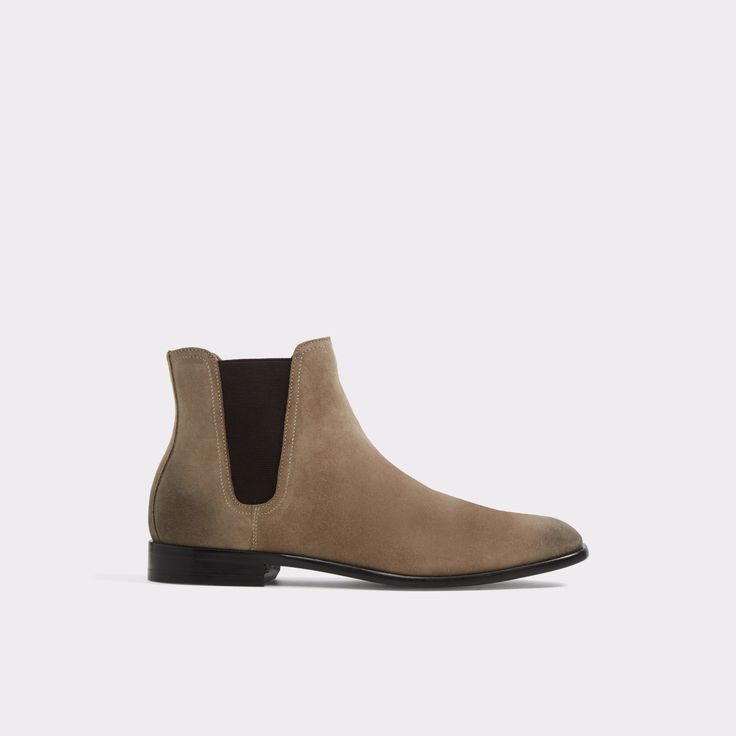 Lovewia Taupe Men's Dress boots   ALDO US