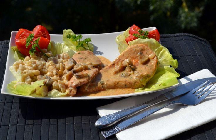 Tejfölös-gombás csirkemell - Keva Blog