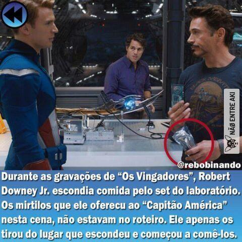 Caralho RDJ. Meme sobre Tony Stark (Homem de Ferro), Os Vingadores