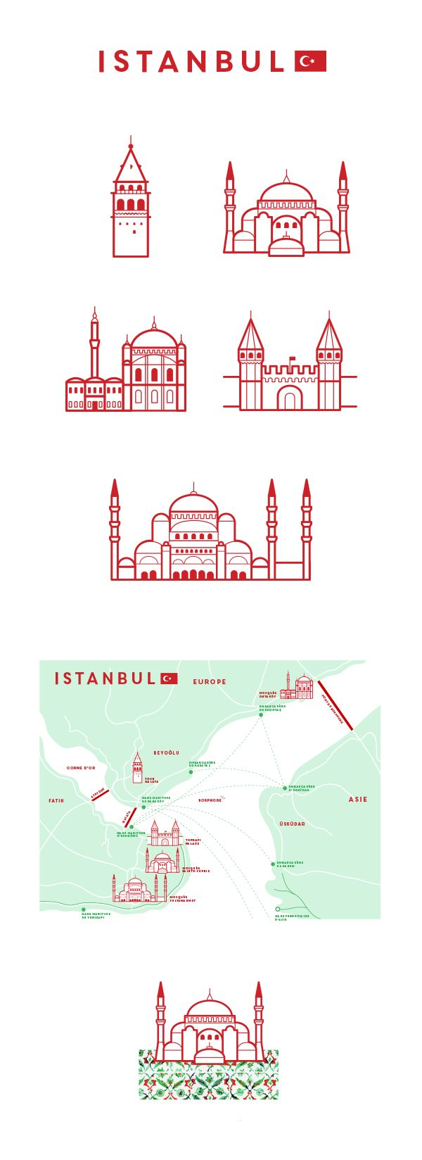 Monuments d'Istanbul on Behance