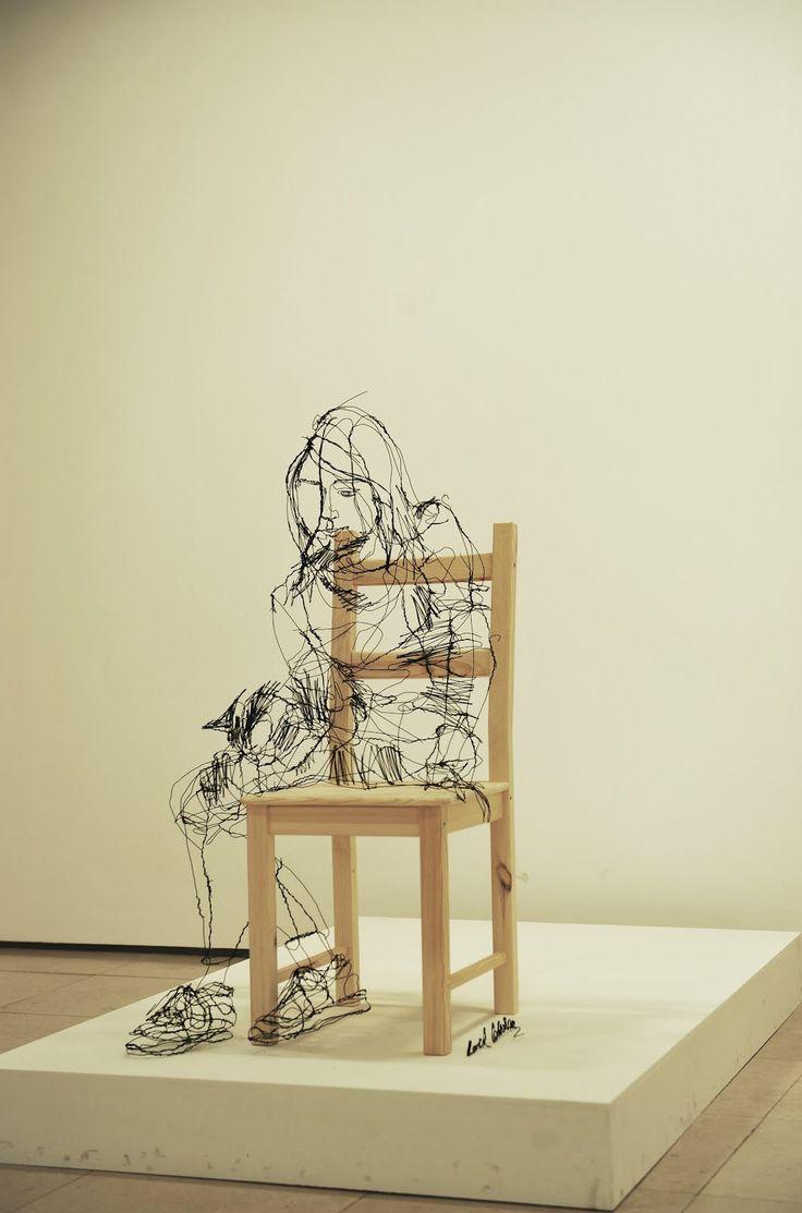 54 best David Oliveira images on Pinterest | Wire sculptures, Olive ...