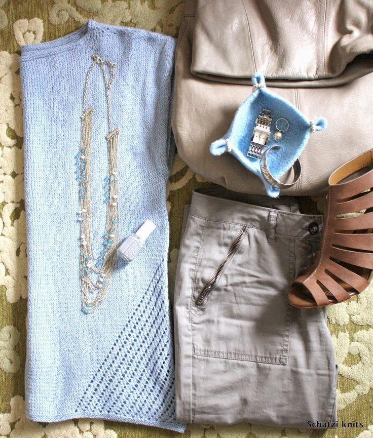 Driftwood Tee @ Schatzi's knits