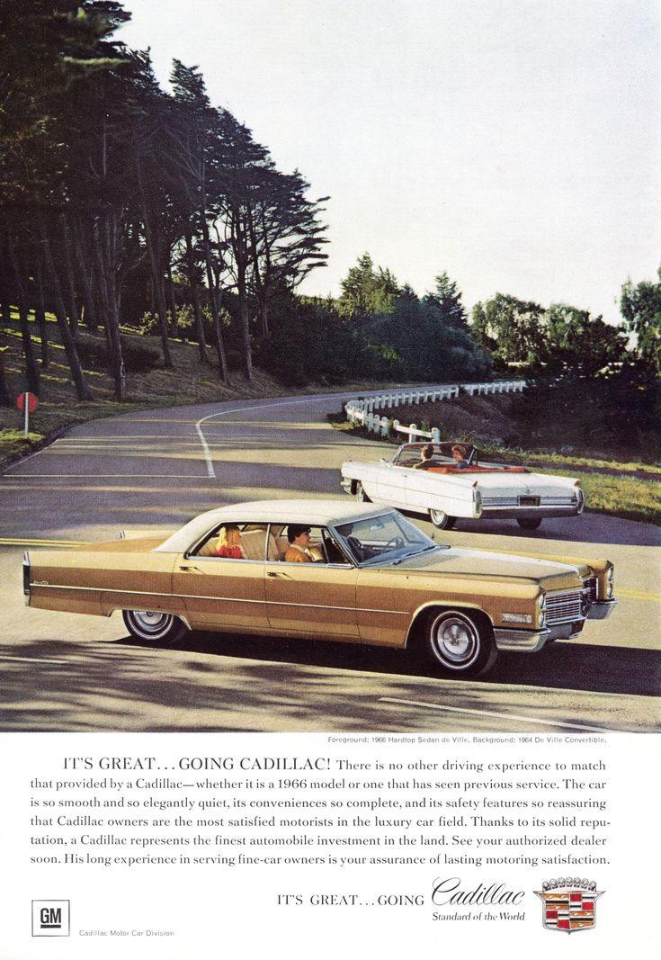 15 best 1966 Cadillac Ads images on Pinterest | Vintage cars ...