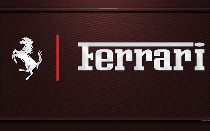 Fond d'écran logo Ferrari