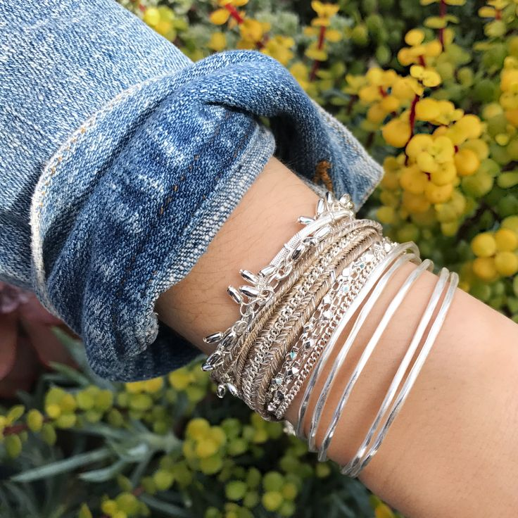 Ready for a refresh? Our new Helai bracelet (launching soon) is the must-have update to your arm party! #stelladotstyle #armparty