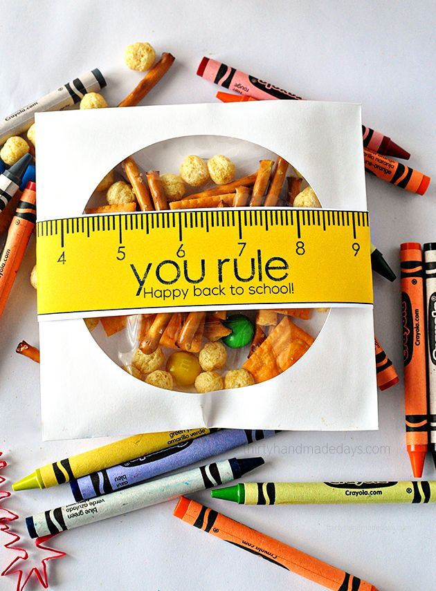 You rule! Happy Back to school printable - make your kids first day of school a little more special!