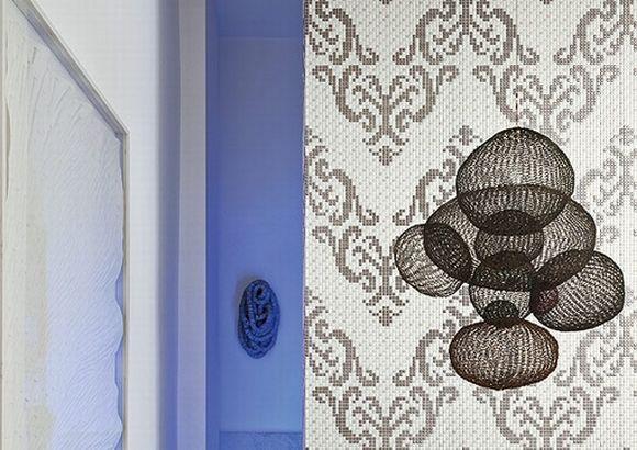 Mosaico ceramico artistico per bagno, cucina e piscine.