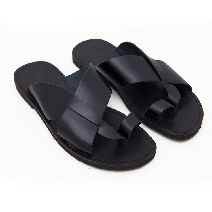Luxury Brown Double Strap Jesus Style Hawaii Sandals. Unisex Sandal For Men Women An... | Chickadee ...