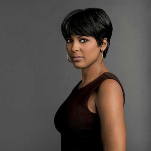 Short Black Hairstyles With Bangs 148 Best African American Short Hair Cuts Images On Pinterest  Hair
