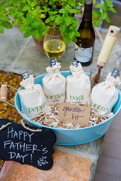Fathers Day DIY Gift Idea   A Mini Herb Garden Grow Kit | Cambria Wines