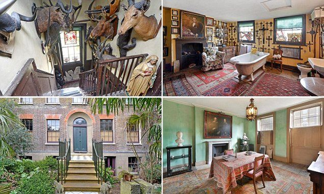 Inside the forgotten London mansion which lay empty for 126 years | Daily Mail Online