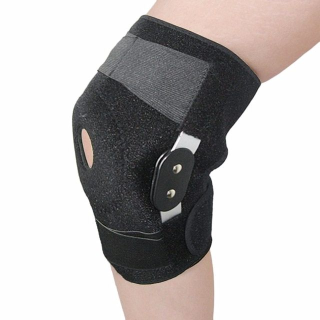 bdc5a84543 Adjustable Medical Hinged Knee Orthosis Brace Support Ligament Sport Injury  Orthopedic Splint Sports Knee Pads 2018 Dropshipping Review