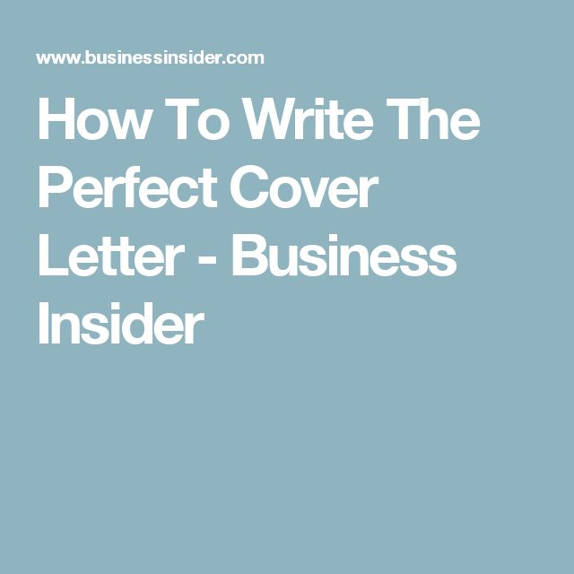 5 simple tips to write a cover letter