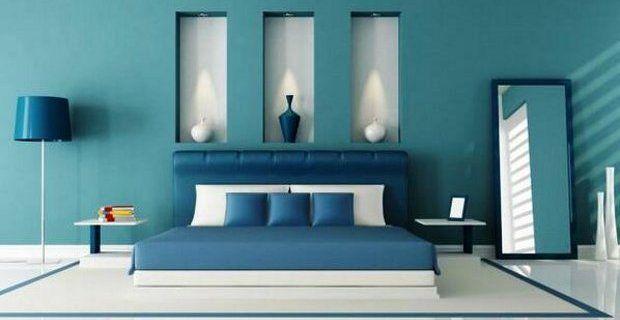 Color azul turquesa marino el ctrico y klein tendencia - Decoracion de interiores en color azul turquesa ...