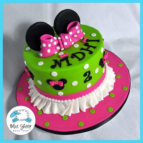 Gâteau d'anniversaire Minnie Mouse   – Cake ideas