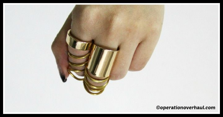 DIY Balenciaga Inspired Rings Tutorial