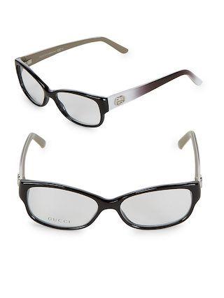 1aab883488107 51MM Cat-Eye Optical Glasses by Gucci