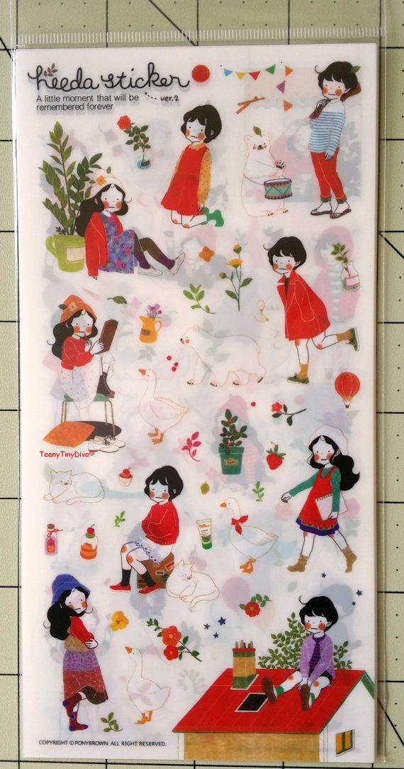 Heeda Sticker Ver. 2 By Pony Brown A little von TeenyTinyDivaStore