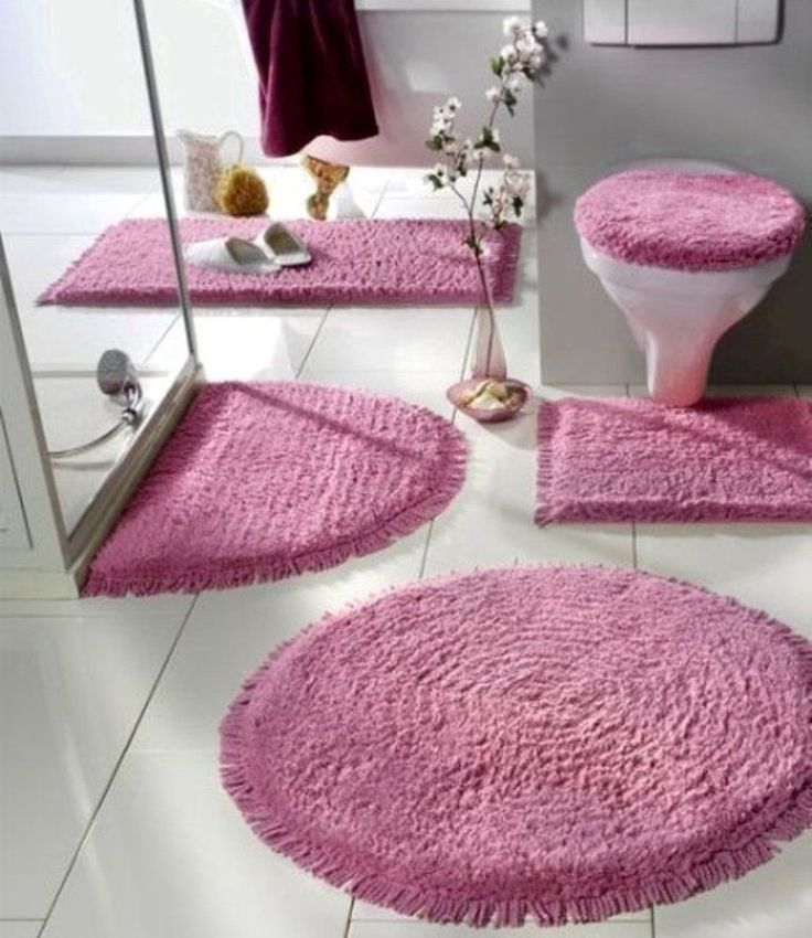 48fabulousmagnificentbathroomrugdesigns201541 47
