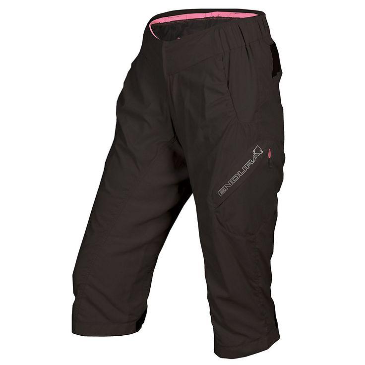 Endura Hummvee Baggy Lite Womens 3-4 Shorts SS17: Endura Hummvee Baggy Lite Women's 3/4… #Cycling #Bicycles #CyclingHelmets #CyclingClothing