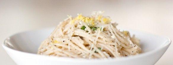 lemon basil pasta