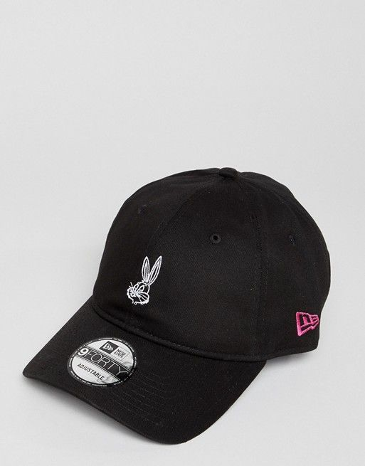 New Era x Looney Tunes Bugs Bunny 9Forty Adjustable Baseball Cap ... a43aece5377a
