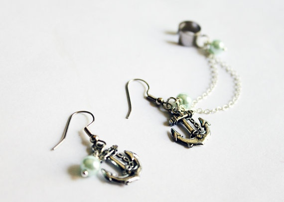 1000 Images About Cartilage Chain Earrings On Pinterest