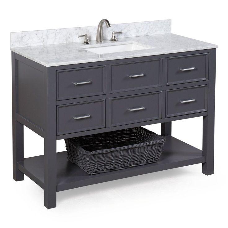 1000+ Ideas About Gray Bathroom Vanities On Pinterest
