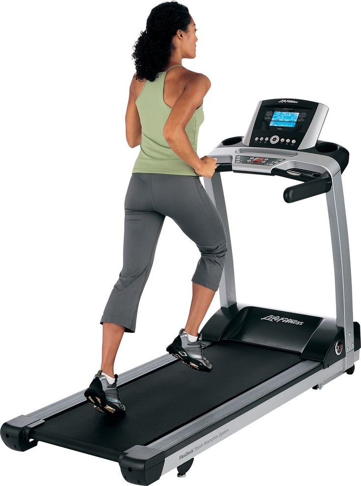 """""""Catch Me If You Can!""""  LIFE FITNESS T3 Non Folding TREADMILL with LIFE FITNESS GO CONSOLE  The Go Console is a simplified choice for those seeking the fundamentals of great workouts. Dramatically lowers energy consumption when the unit is turned on but not in use. Contact hand sensors and wireless telemetry for convenient heart rate monitoring and heart rate controlled workouts. 13 workouts including three Classic, two Advanced, three Goal-based and five HeartSync controlled workouts."""