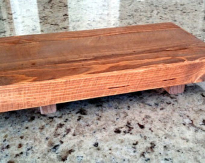Wood Serving Board Serving Tray Wood Platter Wooden Rustic Tray Serving Board Wooden Platter Rustic Wooden Tray Rustic Platter Rustic Tray #ad