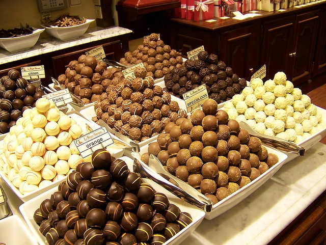 Chocolate shop, Brussels, Belgium by mgiants, via Flickr