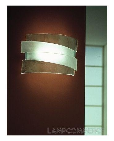 AV Mazzega #Riflessi wall lamp Design M & M