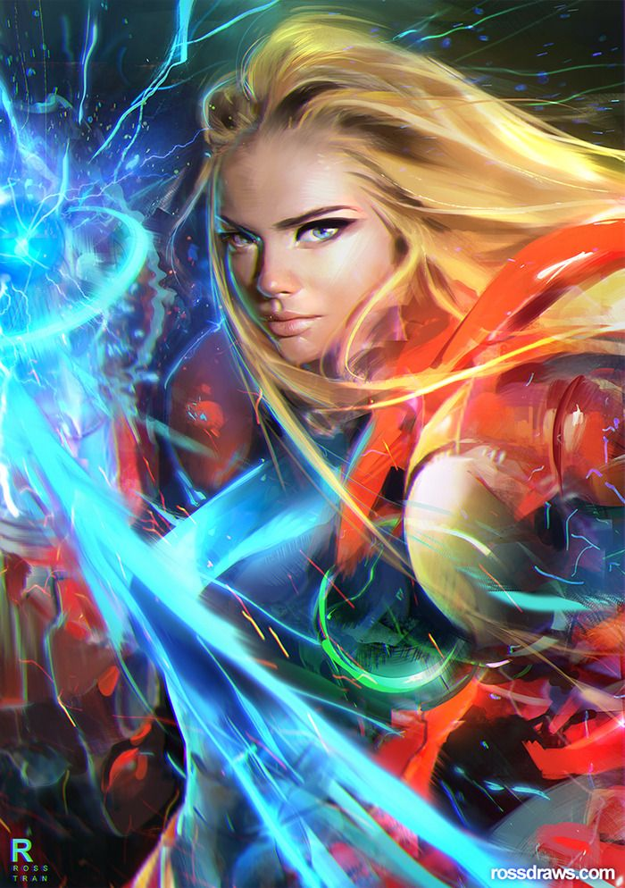 """rossdraws: """"Drawing SAMUS from the episode!! """""""